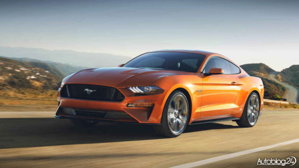 Nowy Ford Mustang 2018