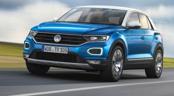 Volkswagen T-Roc - zdjęcia, silniki, wymiary tego kompaktowego crossovera