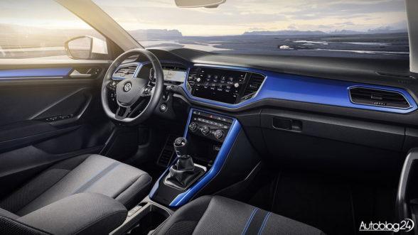 Volkswagen T-Roc - wnętrze