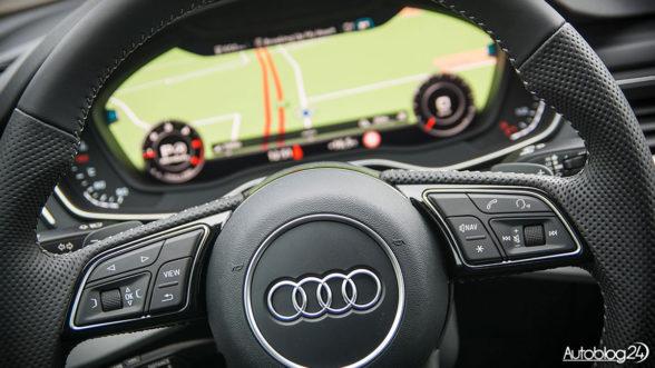 Audi A5 Sportback - kierownica