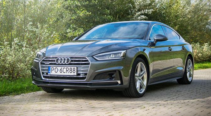 Audi A5 Sportback 2.0 TDI 190 KM Quattro S-Tronic – TEST