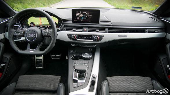 Audi A5 Sportback - wnętrze