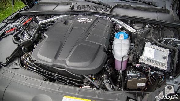 Audi A5 - silnik TDI