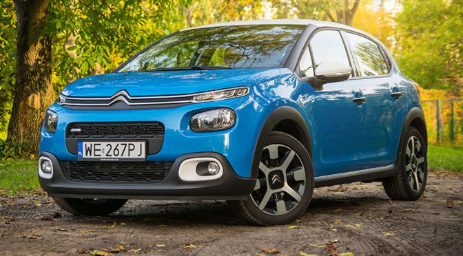 Citroen C3 Shine 1.2 PureTech 82 KM. Stylowo do miasta – TEST