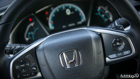 Honda Civic 2017 - kierownica