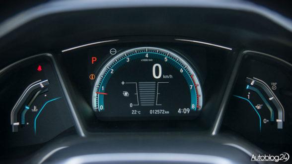 Honda Civic 2017 - zegary