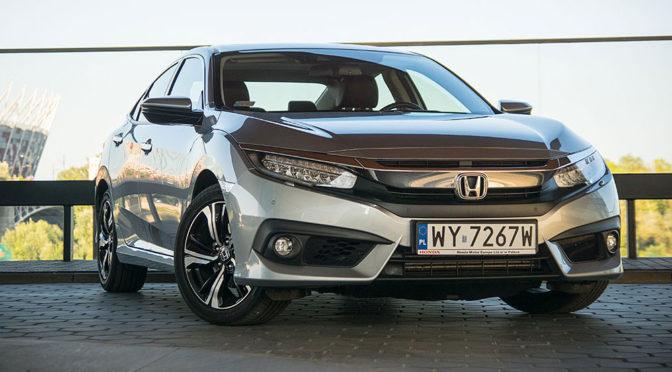 Honda Civic X 4D 1.5 VTEC Turbo. Definicja dynamicznego sedana - TEST