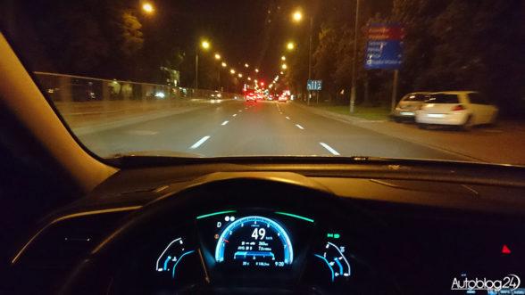 Honda Civic - onboard POV