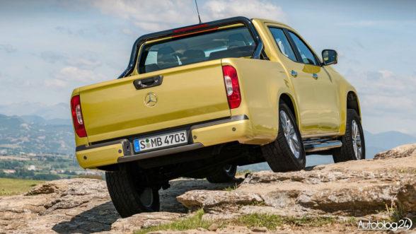 Mercedes Klasy X - pick-up