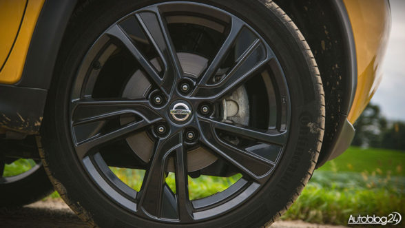 Nissan Juke - felgi 18