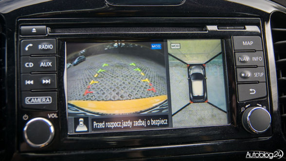 Nissan Juke - parkowanie 360 stopni