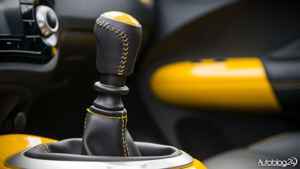 Nissan Juke - skrzynia biegów