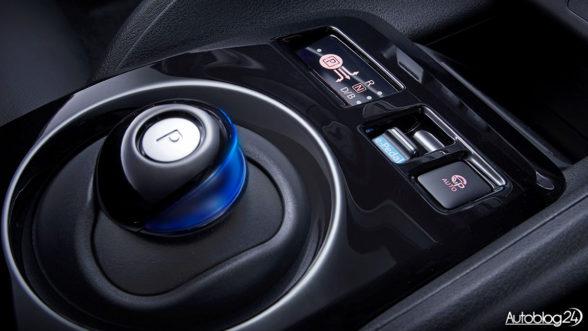 Nissan Leaf II generacja - skrzynia