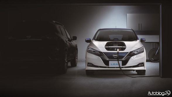 Nissan Leaf - ładowanie