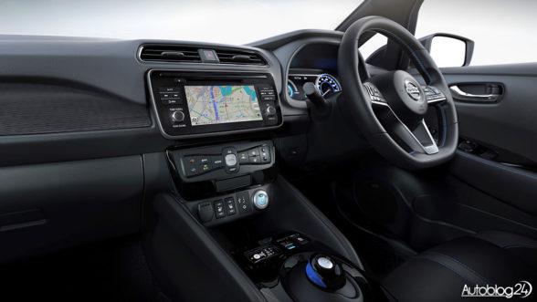 Nissan Leaf - wnętrze 2018