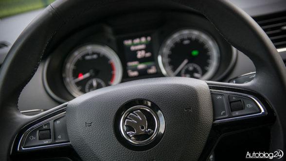 Skoda Octavia 2017 - kierownica