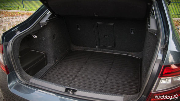 Skoda Octavia FL - bagażnik