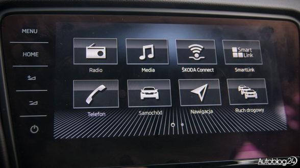 Skoda Octavia - system multimedialny
