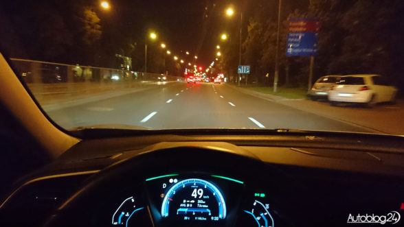 Honda Civic - onboard