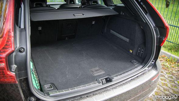 Nowe Volvo XC60 - bagażnik