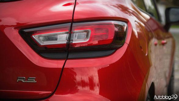 Renault Clio R.S. Trophy - światła LED