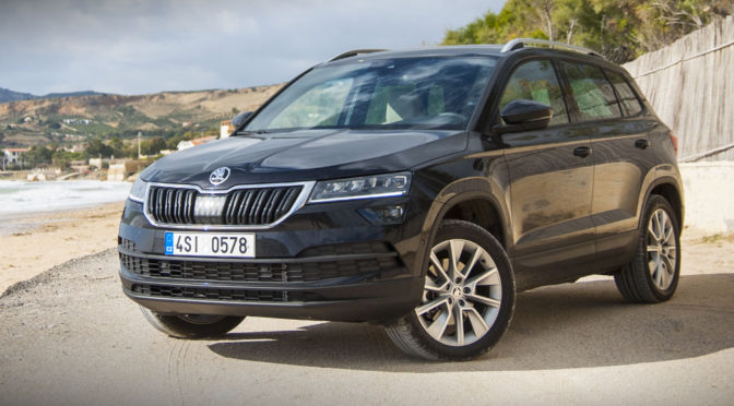 skoda karoq mini test po kilku godzinach jazdy tym suv 39 em. Black Bedroom Furniture Sets. Home Design Ideas