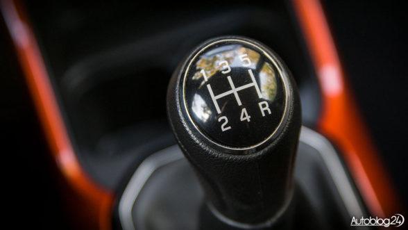 Suzuki Ignis - skrzynia biegów