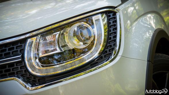 Suzuki Ignis - światła LED