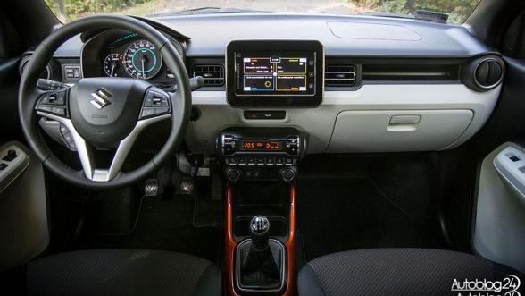 Suzuki Ignis - wnętrze