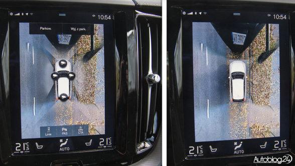 Volvo XC60 - kamery 360 stopni