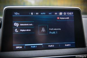 Peugeot 5008 - wnętrze - 10