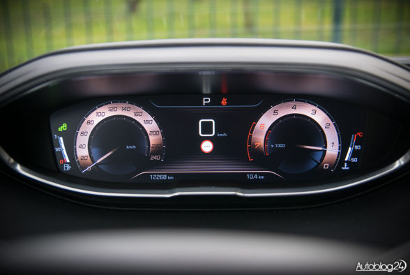 Peugeot 5008 - wnętrze - 12