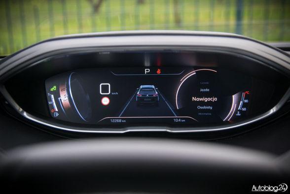 Peugeot 5008 - wnętrze - 14