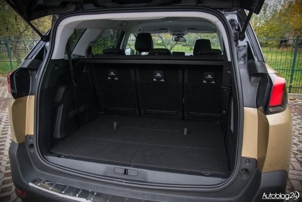 Peugeot 5008 - wnętrze - 17