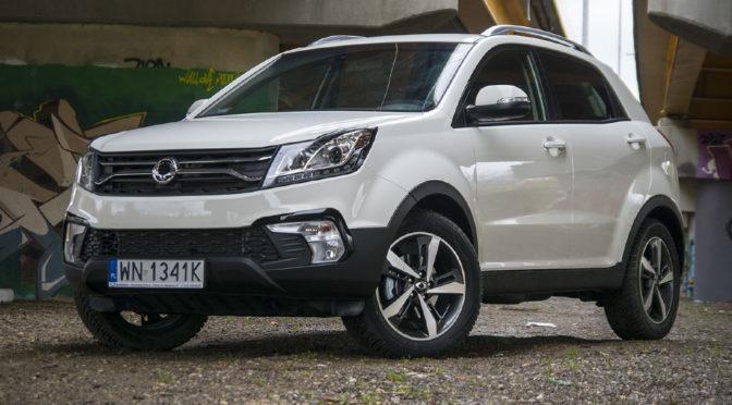 SsangYong Korando D22T Sapphire. Odświeżony SUV z Korei – TEST