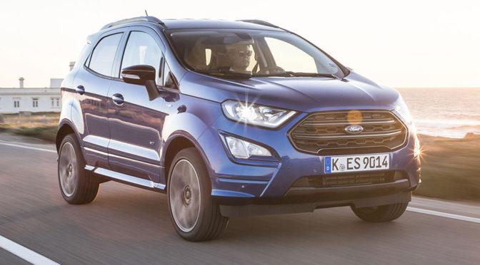 Ford EcoSport – mały SUV zaprezentowany. Zdjęcia, silniki, wnętrze