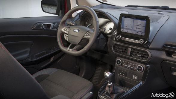 Ford EcoSport - wnętrze