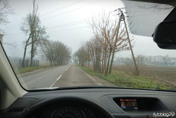 Honda CR-V - jazda