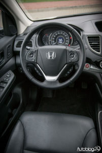 Honda CR-V - wnętrze - 02