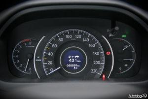Honda CR-V - wnętrze - 06