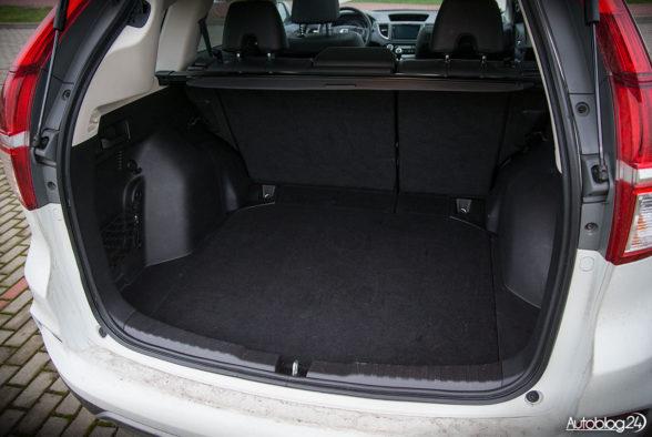 Honda CR-V - wnętrze - 17