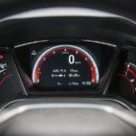 Honda Civic hatchback - wnętrze - 06