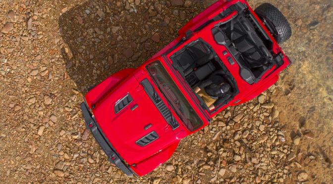 Nowy Jeep Wrangler (2018) - pierwsze zdjęcia i informacje przed premierą