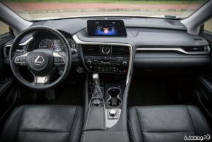 Lexus RX 200t - wnętrze - 01