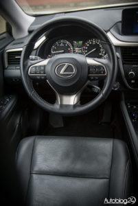 Lexus RX 200t - wnętrze - 02