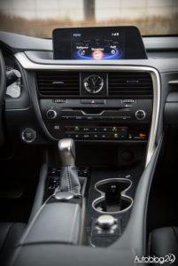 Lexus RX 200t - wnętrze - 03