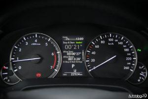 Lexus RX 200t - wnętrze - 06