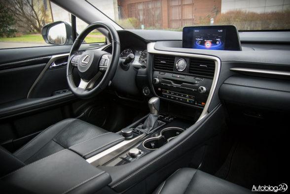 Lexus RX 200t - wnętrze - 14