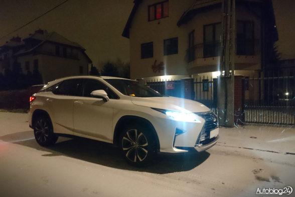 Lexus RX - zima