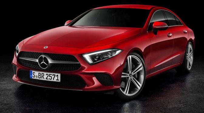 Mercedes CLS III generacji (2018) – zdjęcia, wnętrze, silniki, informacje